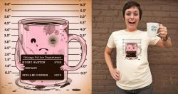 Mugshothttp://www.threadless.com/threadless/mugshot-3/A Mugger's Mug Shot.  A fun little collaboration with Antonio Ismael A Sandiego Hope you guys like it! Cheers!