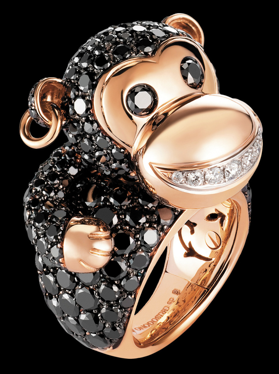 Monkey Ring - de Grisogono