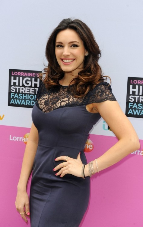 fuckyeahhotactress:  Kelly Brook - Lorraine's High Street Fashion Awards 2013 in London 5/22/13