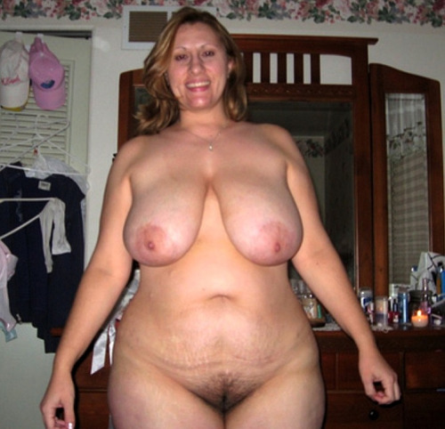 Chubby amateur mom