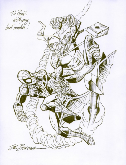 A commission by artist Sal Buscema.