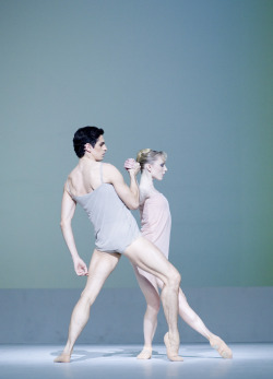 thenextfamous:  Sarah Lamb and Federico Bonelli in  Chroma, photo by Johan Persson