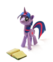Lots more pony downloads when you click the link! (via Twilight Sparkle FinishedPhoto by ~Kna on deviantART)
