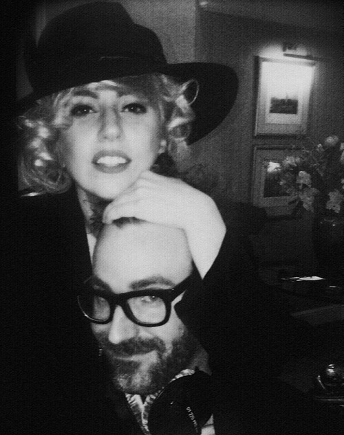 Gaga and DJ White Shadow