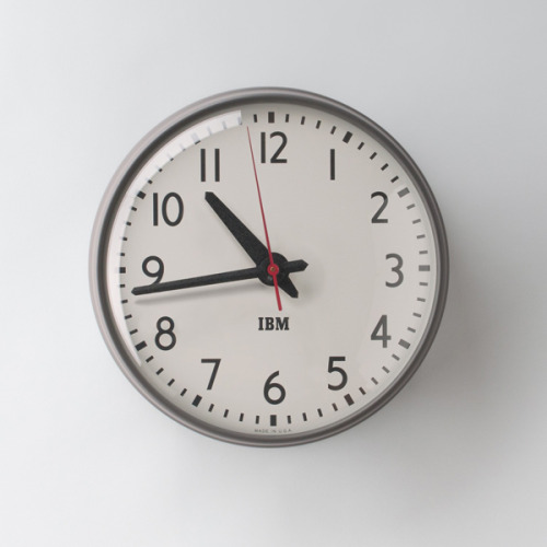 Schoolhouse Electric IBM Clock