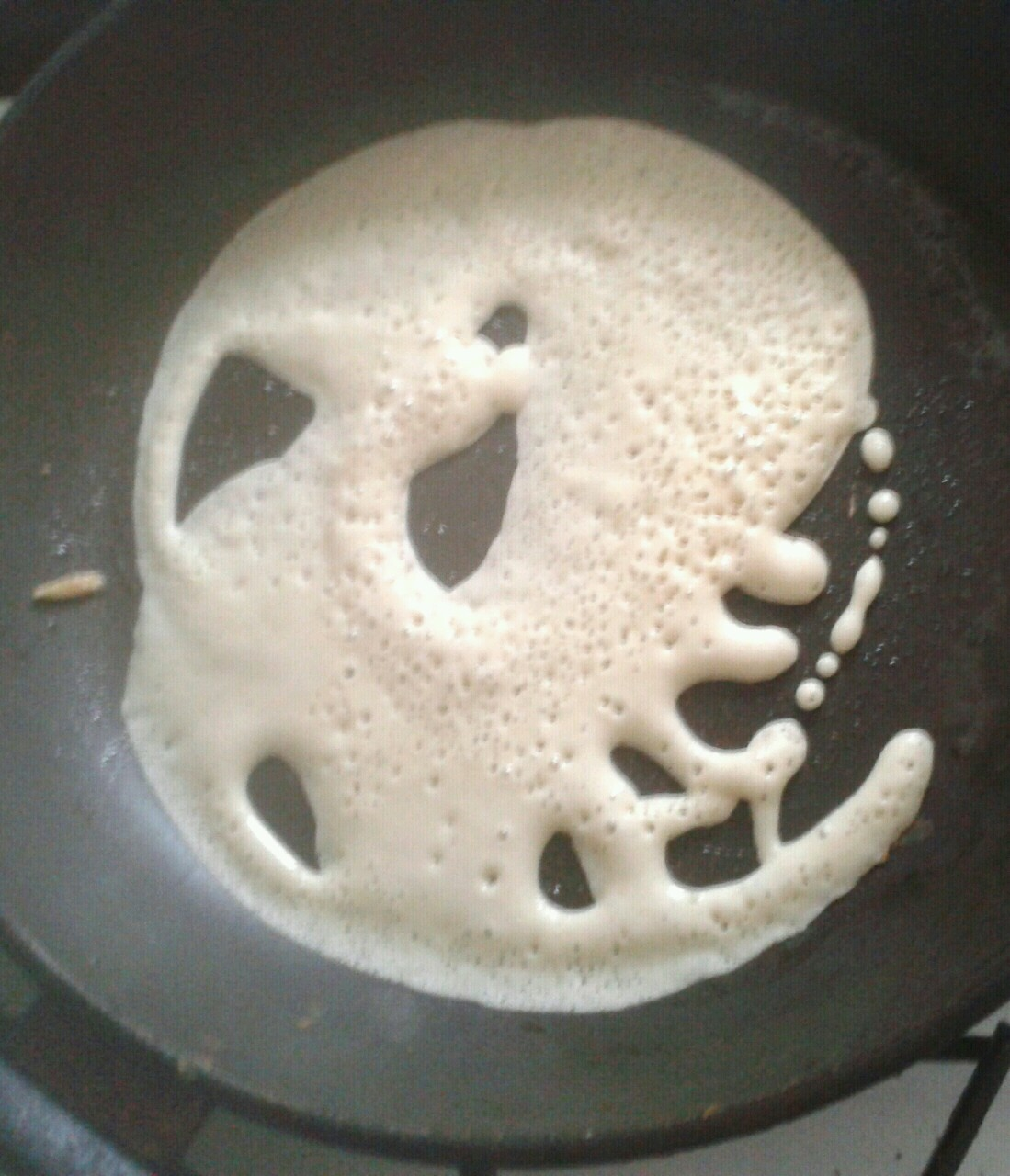 Some people see Jesus in their food, I see Cthulhu