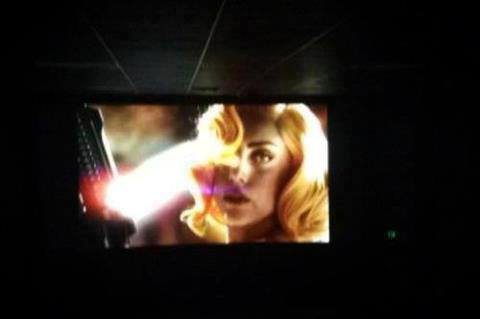 "Lady Gaga on trailer ""Machete kills"""