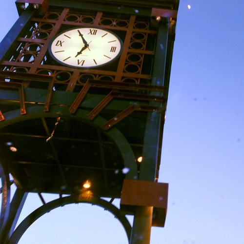 Methuen's downtown clock tower.
