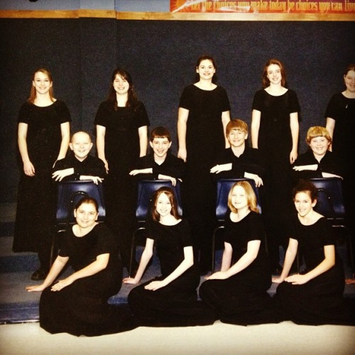 This lovely #throwback of the #hudson choir in 2005! @anthonyhc @mcwheeler415