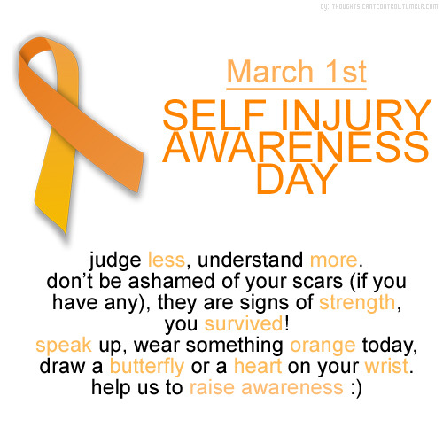 self harm awareness - Google Search on We Heart It. http://m.weheartit.com/entry/53746677/via/libby_15