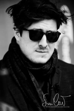 mumfordandsonsblog:  Marcus Mumford of Mumford & Sons. Photo © Simone Cecchetti.