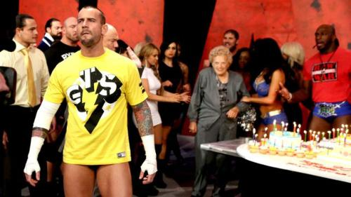 CM Punk's road to Wrestlemania does not stop for birthday parties.
