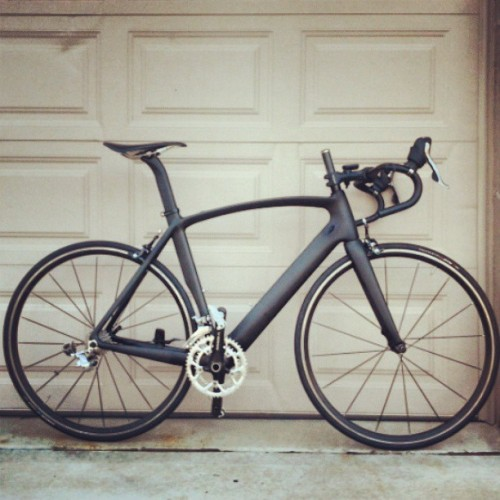 75% done! #roadbike #carbon #cf #carbonfiber #bike