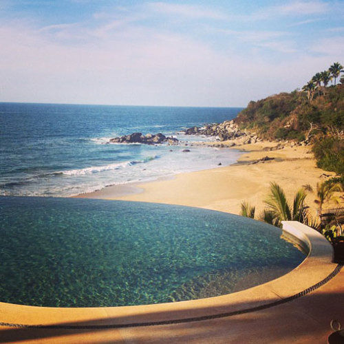 Photos: Infinity Pools and Humpback Whales in Sayulita, Mexico | Carricitos Beach, Teitiare Estates