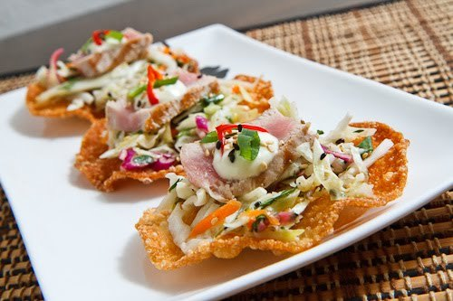 Ahi Tuna Tostadas Recipe