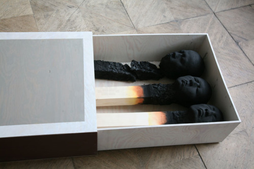 tat-art:  Matchstick Men by Wolfgang Stiller