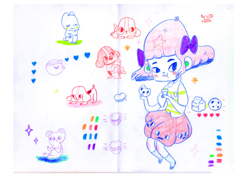 Sketchbook pages #5 (2013)