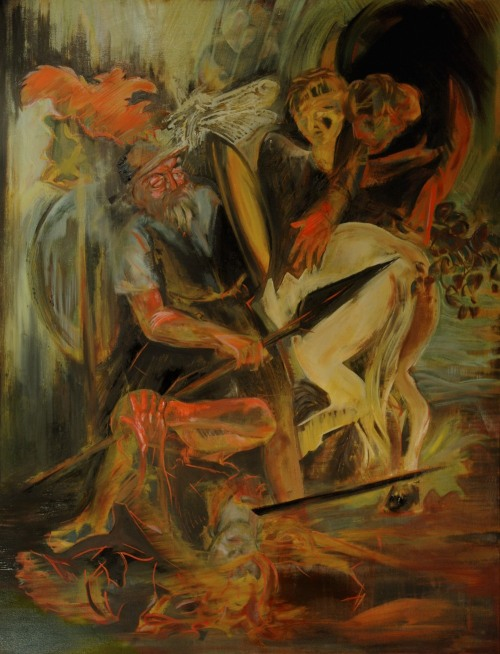 coopermackenzie:  inversion of st. paul   -   2012 oil on canvas