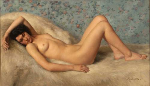 nudiarist2:FINE ART PAINTINGA Reclining Nude by Paul Sieffert (1874-1957)https://www.facebook.com/TheNudismAndNaturismDailyNewsMissing all my posts? That's because I've moved. So to keep up with all the nudist and naturist news, nudist photos, and fine art nudes, please go and follow me here:http://nudiarist2.tumblr.com/