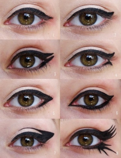 beautylish:  Gintare B. gets creative with her eyeliner!