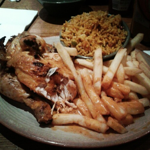 #Nando's still soo fucking full #half #chicken #gang