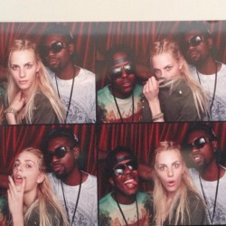 andrejpejicpage:  Coachillen with Andrej Pejic, Ugo Mozie and Vas J Morgan. Source: ugomozie instagram