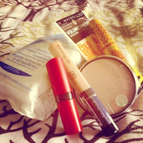 Mini Haul from Rexall - all items were on sale! #cosmetics #beauty #ootd #lotd