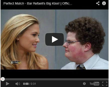 In The Mood To Throw Up Your Breakfast? Watch Bar Rafaeli's GoDaddy Super Bowl Commercial