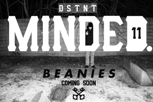 "dstnt-minds:  ""MINDED"" Beanies dropping soon! Release date will be posted in the near future. STAY MINDED"