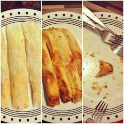Airfried Turon: gone in 3mins! #banana #food #nooil #airfryer #everywhereweeat  (at EverywhereWeHouse!)