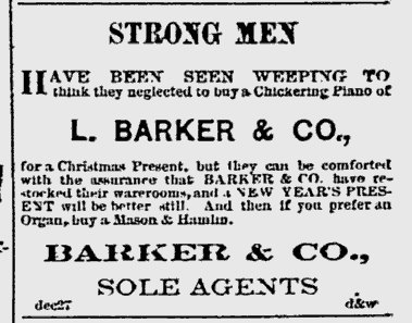 ~ Hartford Weekly Times - January 1, 1876