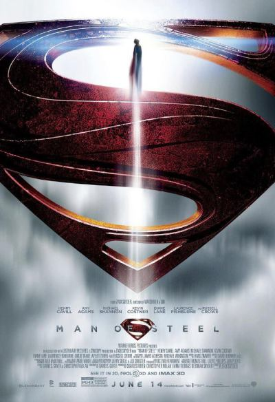 vashtaneradasjx:  Awesome. New Man of Steel poster just unveiled by Warner Bros.