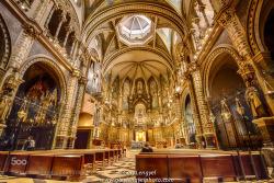 The Basilica at Montserrat - garylengyel - http://ift.tt/1GqQKee