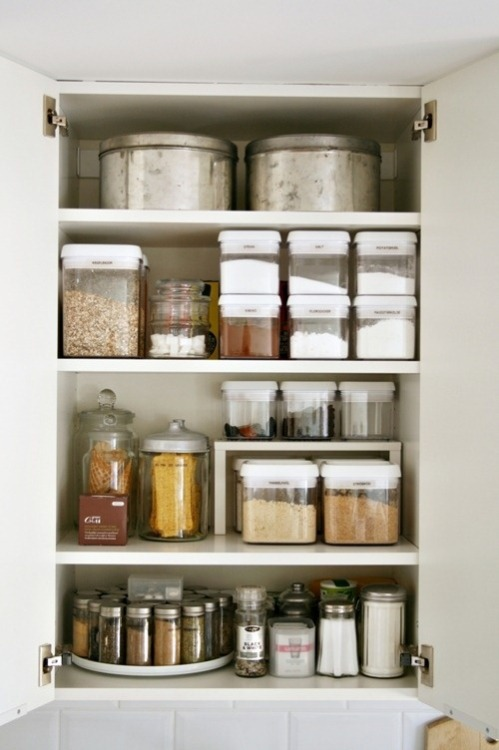 pantry organization (via Pinterest)