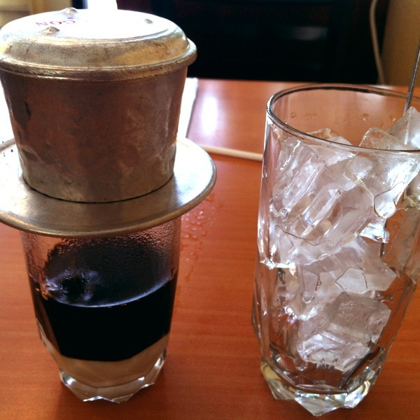 Let's Start the Day off with Vietnamese Iced Coffee with condensed milk