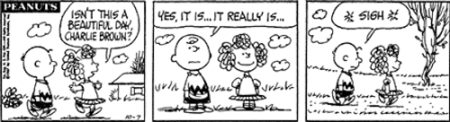 3eanuts:  October 7, 1967 — see The Complete Peanuts 1967-1970