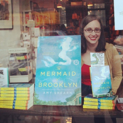 Powerhouse Books hosted a reading of THE MERMAID OF BROOKLYN with @amyshearn last night!