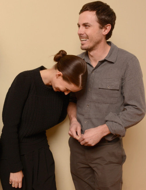 ac-z:  Rooney Mara & Casey Affleck at the 2013 Sundance Film Festival, January 20.