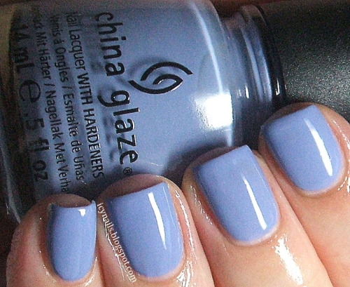 erikatheicyone:  China Glaze Fade Into Hue. Please click through for my review and photographs.