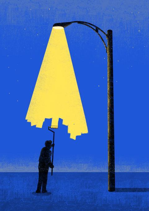 iconoclassic:  (via Minimal illustrations by Tang Yau Hoong - Evasion)