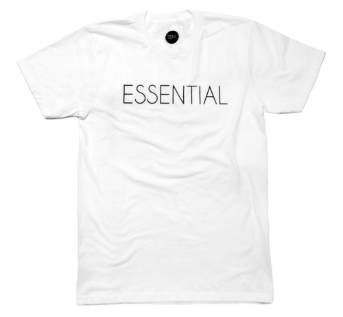 The 'Essential' Tee made and printed in the 🇺🇸
