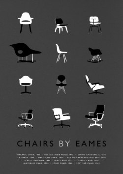 visualgraphic:  Chairs by Eames by Weavers Of South Sea