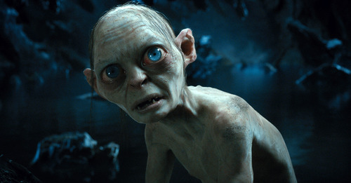 "Baggines? What is Bagginses? Precious…"" Peter Jackson's The Hobbit - in theaters in ONE WEEK! Are you finally ready for this?"
