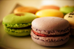 Macarons @ Leonidas Waterfront by どこでもいっしょ on Flickr.
