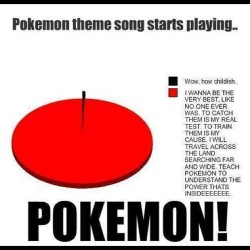 9gag:  When Pokemon theme song starts playing…
