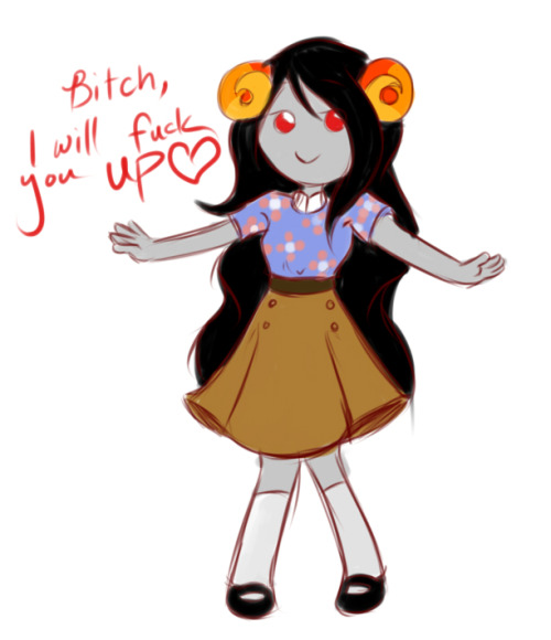Have a cute aradia.   who will fuck you up something fierce