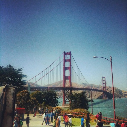 Golden Gate Bridge.  (at Golden Gate Bridge Pavilion)