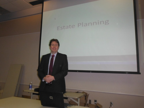 Evan Guthrie Law Firm Leads Class On The Basics Of Estate Planning And Probate At Mount Pleasant Regional Library Mt. Pleasant, South Carolina On Wednesday March 13th 2013. Explaining Wills, Living Trusts, Power of Attorney, And Estate Administration. Thanks To All That Attended And To The Library For Hosting The Event