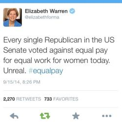 quietandsarcastic:  Read it again:  EVERY.  SINGLE.  REPUBLICAN.  Yes, that includes women.