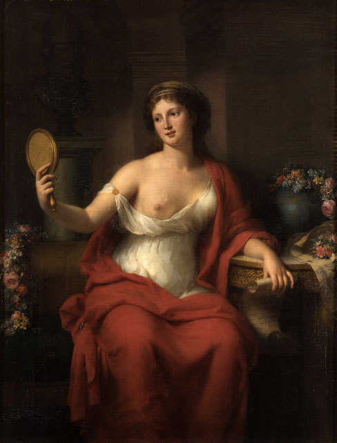 Marie Bouliard, Self-Portrait as Aspasia, 1794
